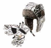 Шапки и перчатки для зимней рыбалки