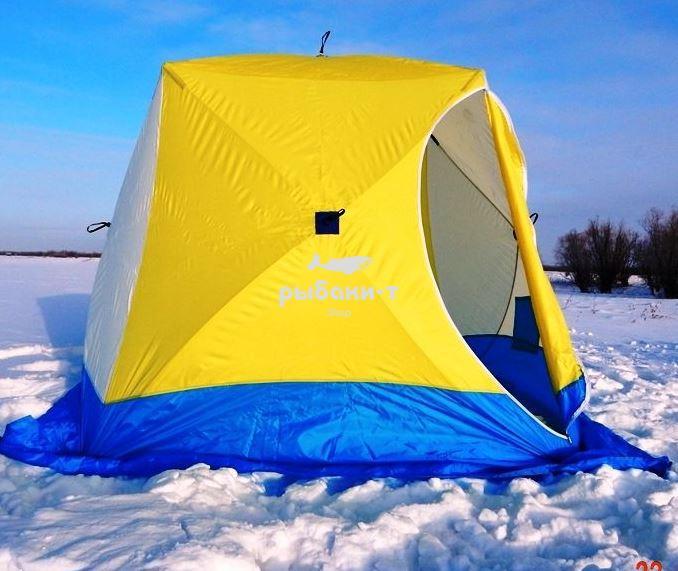 люди палатка зимняя стэк куб 3 режим