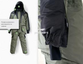Зимняя куртка рыбака