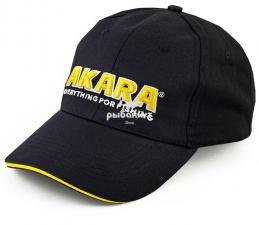 Кепка-бейсболка Akara черная