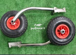 Транцевые колеса быстросъемные удлиненные