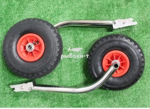 Транцевые колеса откидные удлиненные
