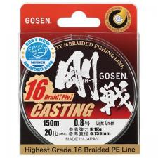 ШНУР GOSEN CASTING 16 BRAID, 150M Green