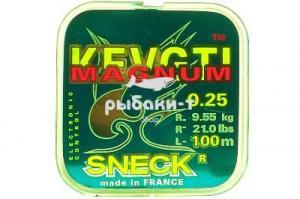 ЛЕСКА SNECK MAGNUM GREEN, 100M