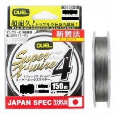 Шнур DUEL PE SUPER X-WIRE 4, 150M
