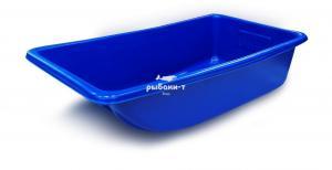 Сани-волокуши для рыболовов и охотников (830*450*220) (синий)