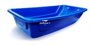 Сани-волокуши для рыболовов и охотников (1200*600*250) (синий)