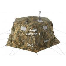 Зимняя двухслойная палатка Куб Гексагон Берег