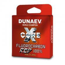 Леска Dunaev Fluorocarbon красная