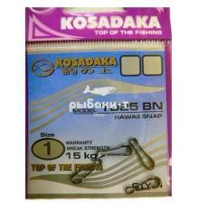 "Купить Застёжку ""Kosadaka"" Hawaii Snap 1025BN"